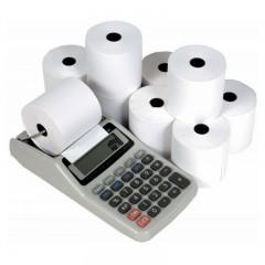 Confezione di rotoli di carta per Calcolatrici scriventi (10 pz)