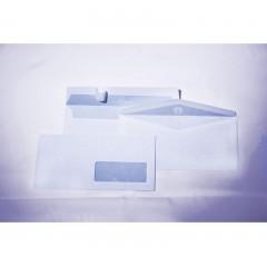 Buste bianche internografate con finestra (Confezione da 500 pz)