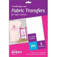 T-Shirt Transfer per cotone chiaro