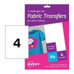 T-Shirt Transfer per cotone scuro