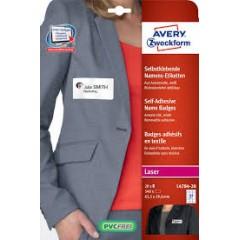 Badge adesivi per tessuti